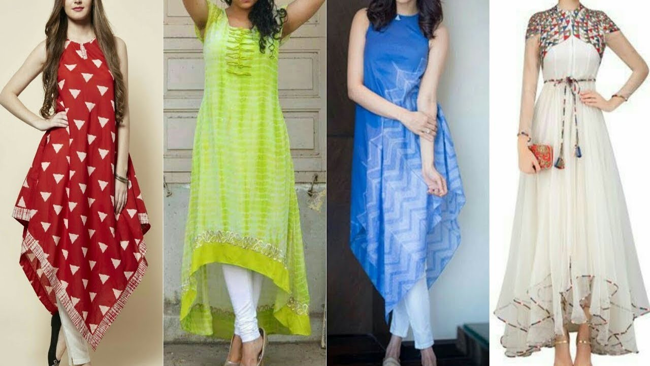 Latest kurti designs for girls top pakistani designer for Floor length kurti
