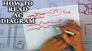 How to Read AC Wiring Diagram - YouTubeYouTube