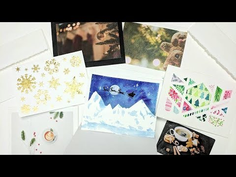4 Types Of Handmade Holiday Cards
