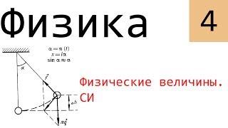 Физика. 4. Физические величины. СИ