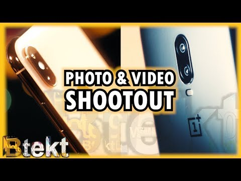 iPhone XS vs OnePlus 6T Comparison | Photo and Video Shootout