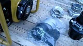 видео Двигатель Robin-Subaru EY20-3D