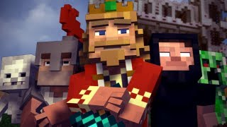 """Fallen Kingdom"" - A Minecraft Parody of Coldplay's Viva la Vida (Music Video) thumbnail"