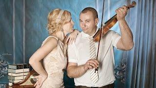 Свадебная фотосессия Альбины и Лаши в фотостудии (слайд-шоу)
