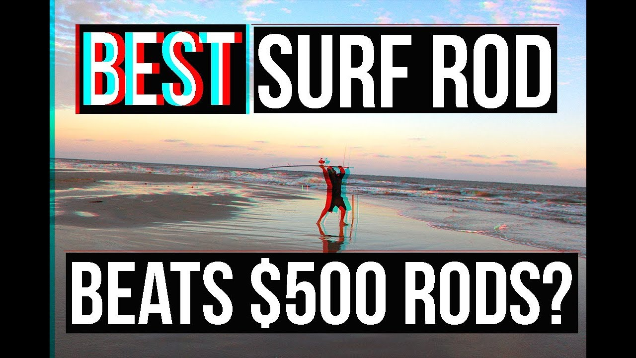 NEW BEST Surf Fishing Rod? SURPRISING PRICE | Surf Fishing Jetty Fishing  Surf Fishing Rigs