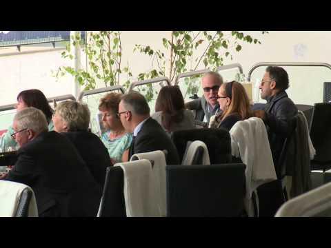 Bruce Springsteen aandachtig toeschouwer op CHIO