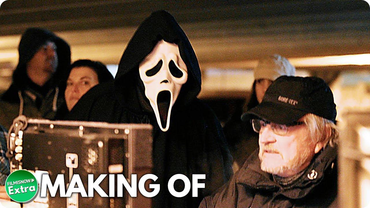 SCREAM 4 (2011)   Behind the Scenes of Wes Craven Horror Movie