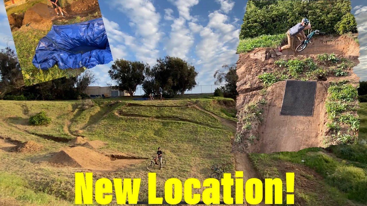 Secret Dirt Jumps #12 New Location Tour!