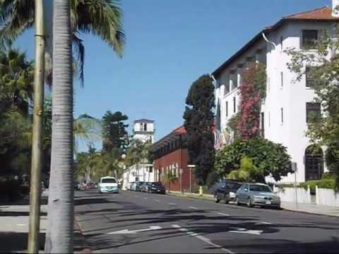 Santa Barbara, California: The historic city and the beach