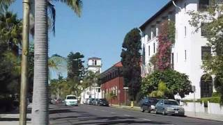Santa Barbara, California: The historic city and the beach