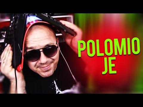 POLOMIO JE TASTATURU ! Grand Theft Auto V - Deathrun w/Cale (RAGE !!!)