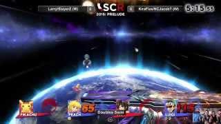 SCR Prelude II - LarryLurr/SlayerZ Vs. KiraFlax/NCJacobT Doubles Semi Winners Side - Smash Wii U
