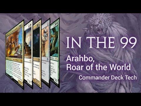 Arahbo, Roar Of The World: Selesnya Cat Tribal Equipment Aggro
