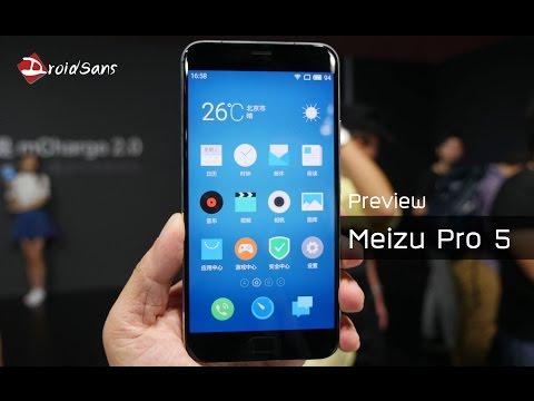 Preview : พรีวิว Meizu Pro 5
