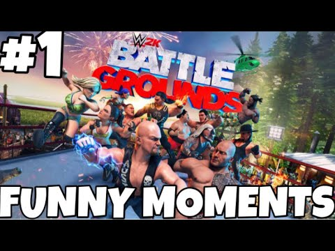 This Glitch Ruined His Streak - WWE 2K Battlegrounds Online Funny Moments #1