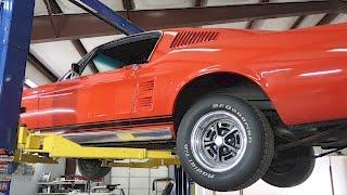 1967 Mustang Fastback Rear Shock Install