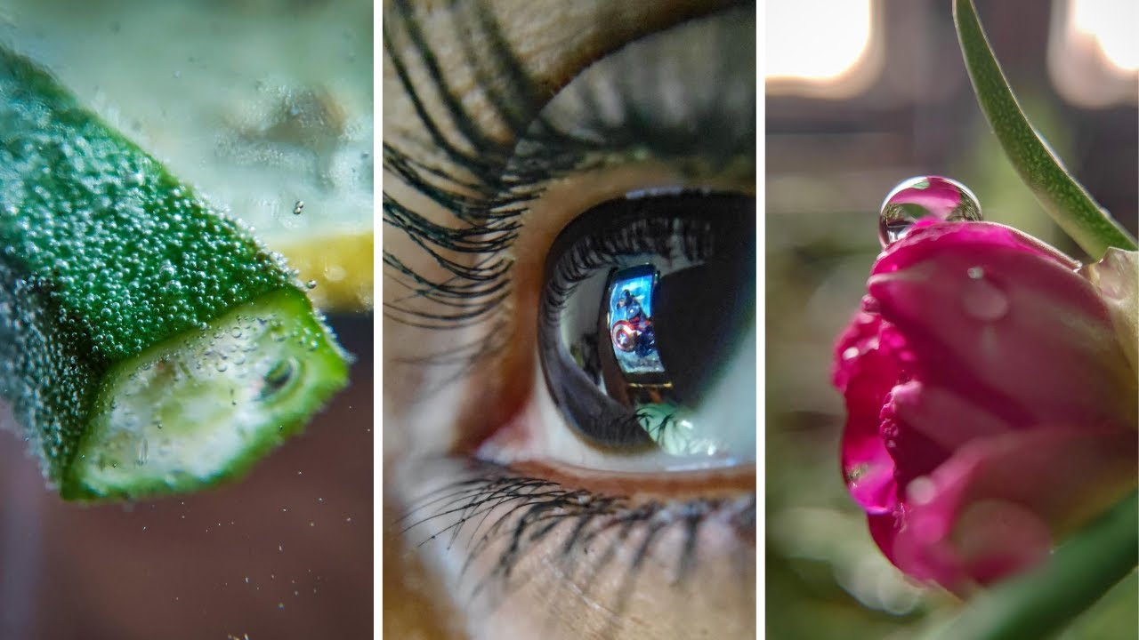 25 MACRO Photography IDEAS at Home 🔥 GIVEAWAY 🔥 Macro Photography With Mobile | Photo Walker