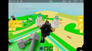 mi primer video de roblox Lifting Simulator