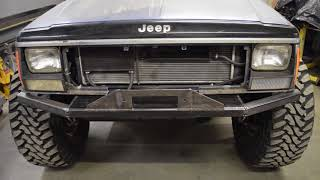 LBP XJ Cherokee Episode 3 - Front Bumper