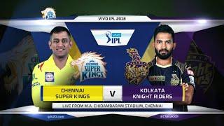 VOVO IPL 2018|| Match.5 CSK VS KKR Full Match Highlights || IPL 2018 || By Adnan Cricket