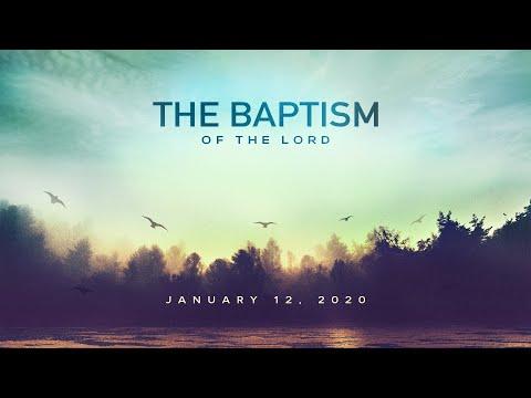 Catholic Gospel Reflection For January 12, 2020 | Baptism of The Lord
