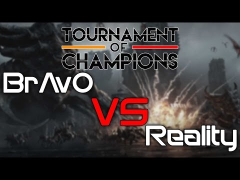 Team Gravity's Fight Night (Tournament of Champions) - BrAvO vs Reality - [TvT]