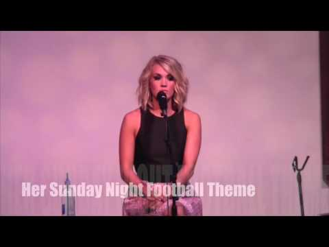 Carrie Underwood Number One Party For Heartbeat Church Bells