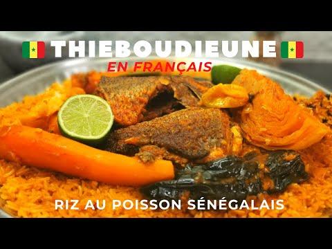 thieboudieune-facile -comment-faire-du-riz-au-poisson-senegalais- recette-du-thiep-💚💛❤️