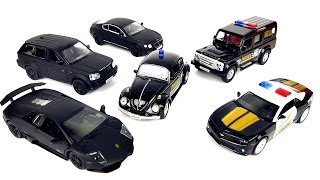 cars for kids videos for children with toy cars police машинки для детей полицейские машинки