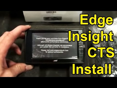 Edge Insight CTS (Color Touch Screen) Install: 2006 Dodge Cummins 5.9L