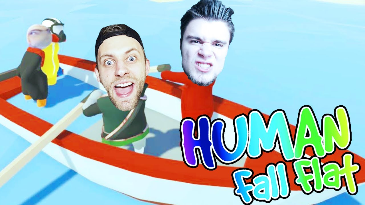 PŁYNIEMY PRZEZ OCEAN! | Human Fall Flat [#6] (With: Kubson, Plaga, Dobrodziej, Diabeuu)