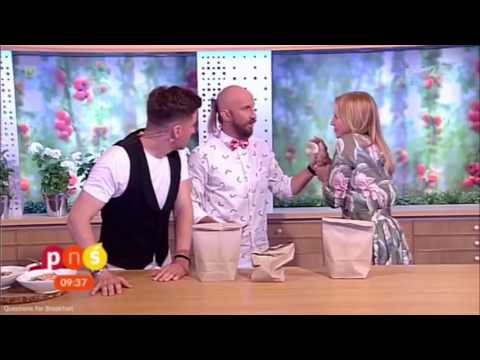 Polish Magic Gone Wrong! TV host impaled live on air by magician Marcin Połoniewicz!