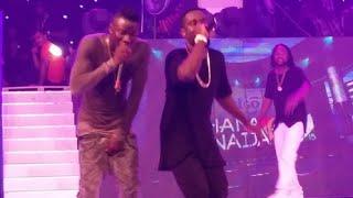 stonebwoy performs baafira at ghana meets naija