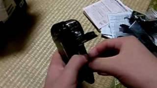 SANYO Xacti DMX CA9 開封 防水テスト