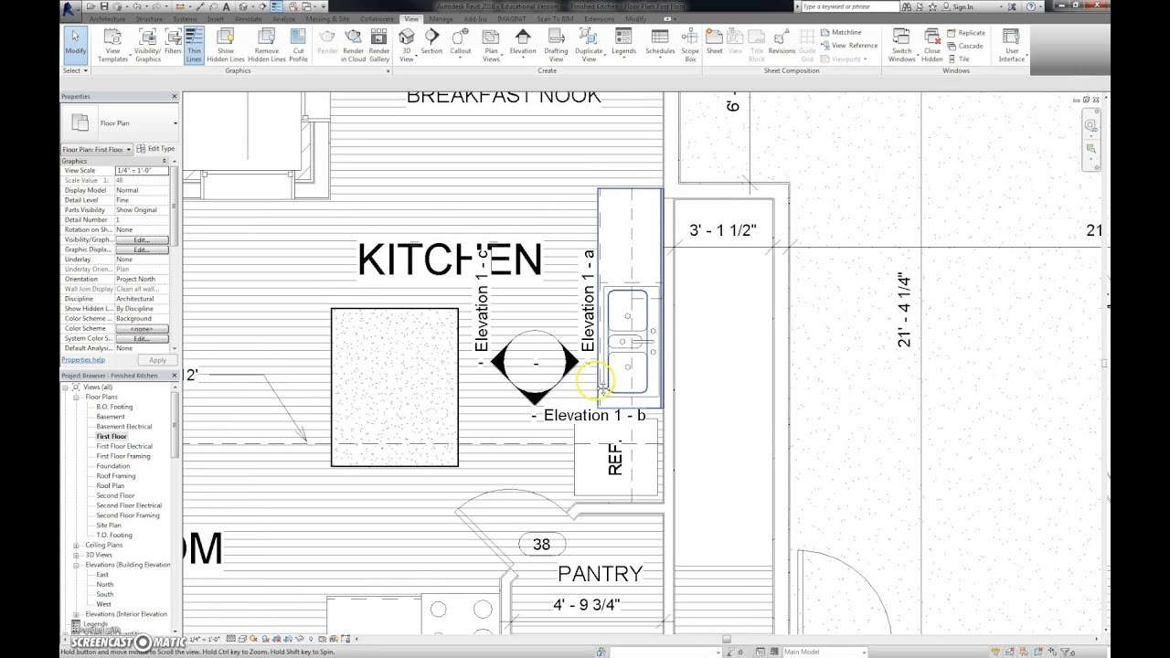 Kitchen Elevations and Sheet - YouTube