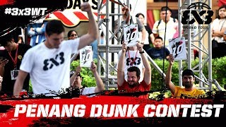 High Flying Dunk Action! | Dunk Contest Highlights | FIBA 3x3 World Tour 2018 - Penang Masters