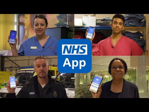 Why people use the NHS app