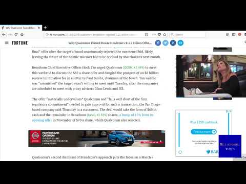 Why Qualcomm Turned Down Broadcom's $121 Billion Offer