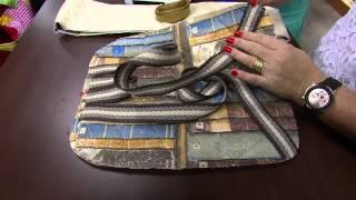 Mochila em patchwork – Maura Castro PT2