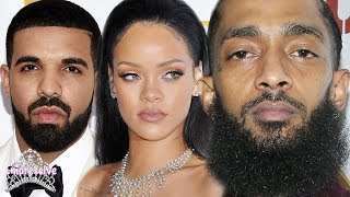 Celebrities react to Nipsey Hussle's passing (Rihanna, Drake, etc.) | Nipsey Tribute