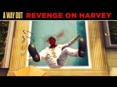 A Way Out Harvey's Death Scene - A Way Out Revenge on Harvey