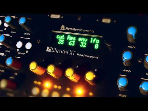 Mutable Instruments Shruthi XT with Polivoks Filter - Part 1