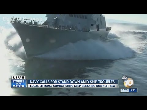 Navy calls for stand down amid ship troubles