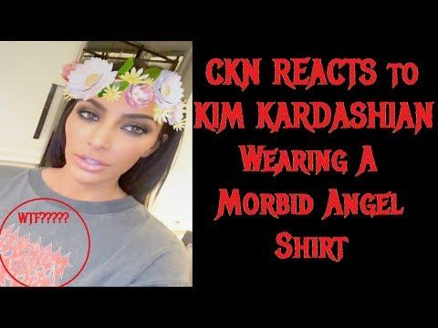 CKN REACTS to KIM KARDASHIAN Wearing A Morbid Angel Shirt