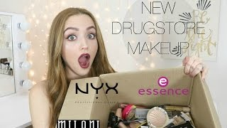 big drugstore makeup haul   brand new products