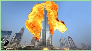 What If The Burj Khalifa Was Attacked?