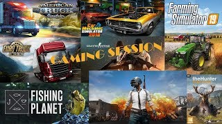 | #298 | FS-19-PUBG-THE HUNTER-FISHING SI POATE ETS-2 MULTIPLAYER | part.2