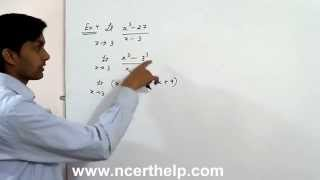find the limit calculus of Limit x tends to 3 (x^3 - 27)/(x- 3), Li...