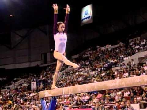 Courtney Kupets - Balance Beam - 2003 U.S. Gymnastics Championships - Women - Day