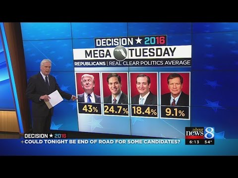 Trump looks to topple two more GOP rivals